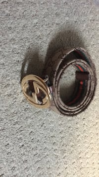 Two brown and black leather belts London, N6G 0C8
