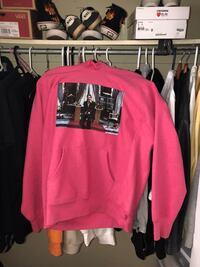 Supreme Scarface Friend Hooded Sweatshirt Magenta Toronto, M2R