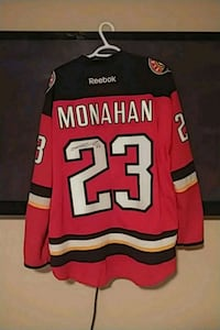Autographed Sean monahan Calgary flames 3rd jersey Langley Township, V4W 4A2