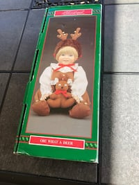 Christmas Around the World Porcelain Doll