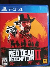 Sony PS4 game red dead redemtion 2 South Bend, 46615