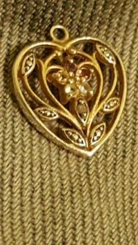gold-colored floral pendant Connelly Springs, 28612