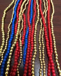 Assorted color bead necklaces lot - obo San Diego, 92131