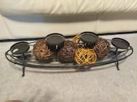 Metal candle holder with balls decor Orange Park, 32073