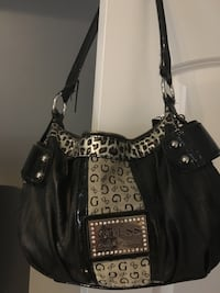 Guess Black and gray leather bag  Toronto, M3J