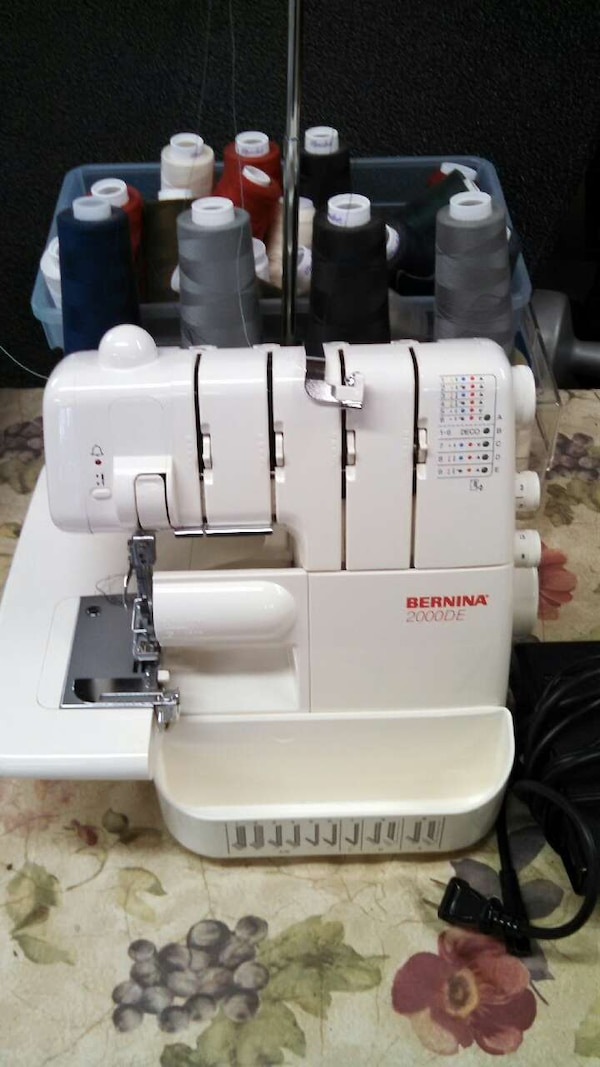 Used Bernina 40DE Serger Sewing Machine For Sale In Great Falls Letgo Unique Bernina Used Sewing Machines For Sale