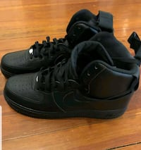 Black Nike Air Force 1 Shoes. Shoes are brand new. Pasadena, 21122