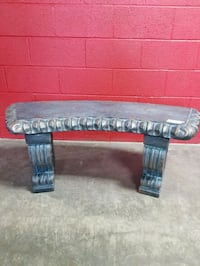 Scroll Bench Curved Tile Top Halethorpe