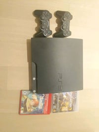 Playstation 3 Slim 320 GB Console, 2 controllers + New York