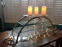 Custom Designer Iron Wedding Cake Stand