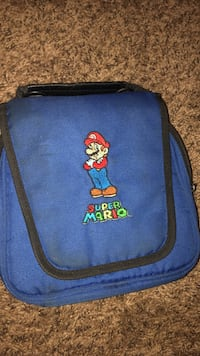 Blue and black Mario case Toms River, 08753