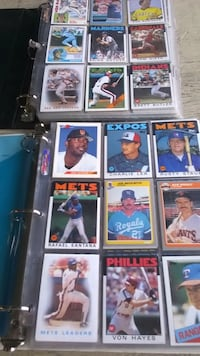 Baseball cards of the 80's