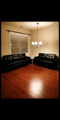 New black leather sofas Fort Mill, 29708