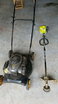 Push Mower and weedeater. Lowell, 72745