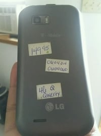 black LG MY TOUCH 4G Hagerstown, 21742