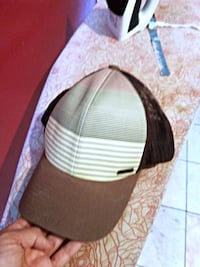 brown and white leather bucket hat San Diego, 92114