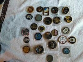 25 military coins