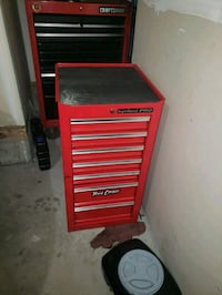 red and black Craftsman tool cabinet Calgary, T2X 3K2