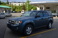 2011 Ford Escape XLT 4WD Local No accident One owner clean escape Coquitlam