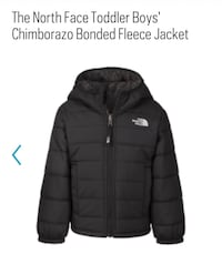 North Face Toddler Down Jacket Size 2T 561 km