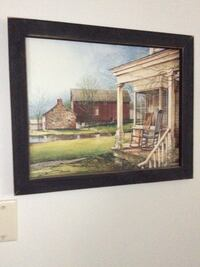 """Painting/Print """"Serenity"""" Country scape by John Rossini Plainfield, 46168"""