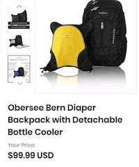 diaper backpack