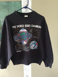 1992 world series champions fruit of the loom size medium sweatshirt London, N6M