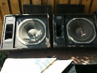 two black subwoofer Saint Catharines, L2R 3G3
