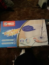 Neco Easy Wring & Clean mop with wringer box