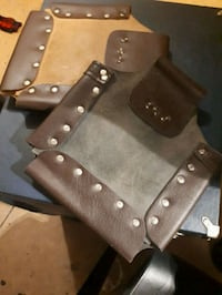 Two Heavy Duty Leather Belt Pouches New Westminster, V3M 3L1