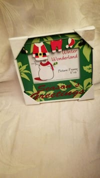 New 4 by 6 christmas picture frame Birmingham, 35235