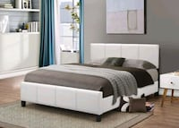 Brand New Queen Size Leather Bed Frame ONLY  Silver Spring, 20902