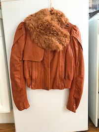 Lamb skin leather jacket- size small San Francisco, 94109
