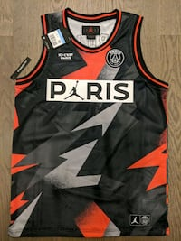 Michael Jordan & PSG limited edition basketball jersey