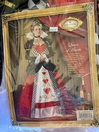 Queen of Hearts Adult Costume size S Ladera Ranch, 92694