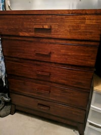 Wood sturdy dresser Reston, 20190