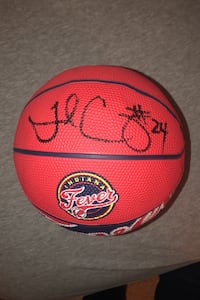 Tamika Catchings Indiana Fever Autographed Basketball
