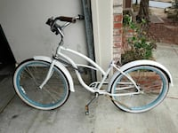 Woman's Beach Cruiser Bicycle
