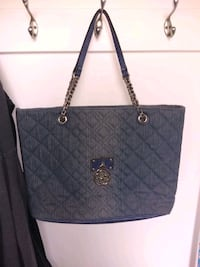 Denim guess purse