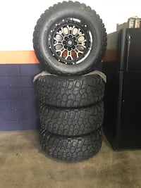 Fuel rims with bfgoodrich mud terrain t/a for sale Denver, 80221