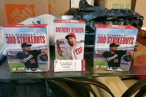 Washington Nationals Bobbleheads & a ticket from Game 4 of the WS