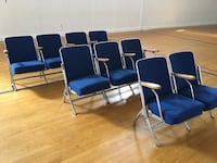 225 THEATRE SEATS for church, theatre, chapel, or small auditorium Leominster, 01453