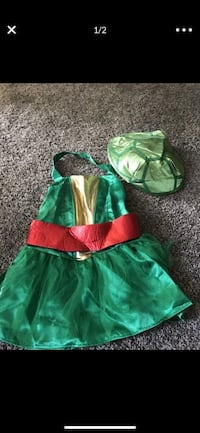 Tmnt reversible costume girls size medium  Bakersfield