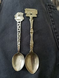 Silver collector spoons Saint Petersburg
