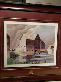 AJ Casson, Group of Seven 7, signed LE Mississauga, L5L 3P4