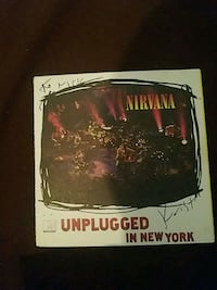 Nirvana Signed CD insert by Krist