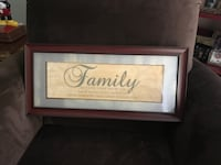 Pretty All Wood Matted Demential Family Picture Gainesville, 20155