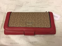 New Guess monogrammed leather long wallet Montréal, H3H 2J4