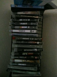 assorted Sony PS3 game cases Sacramento, 95842