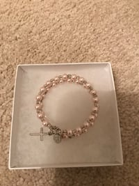 Brand new beaded cross bracelet  Aurora, L4G